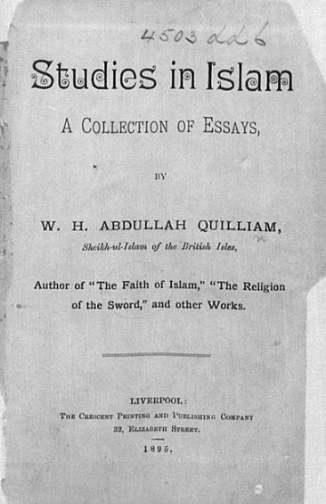 Studies in Islam - Book by Abdullah Quilliam