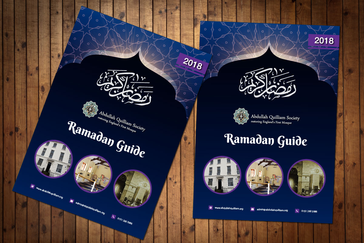Brochure Design for Abdullah Quilliam Society
