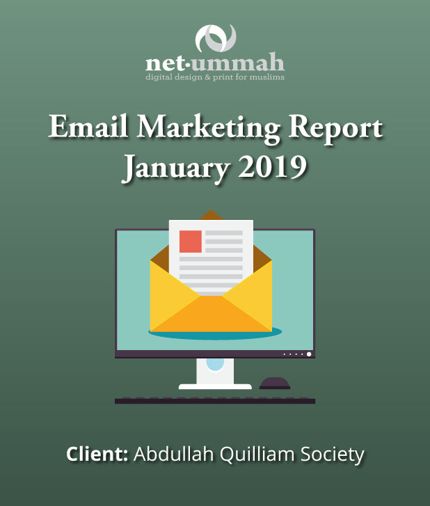 Email Marketing Report for the Abdullah Quilliam Mosque