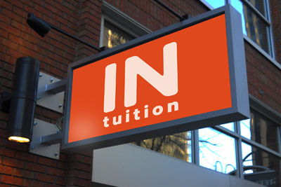 Signboard design for Intuition