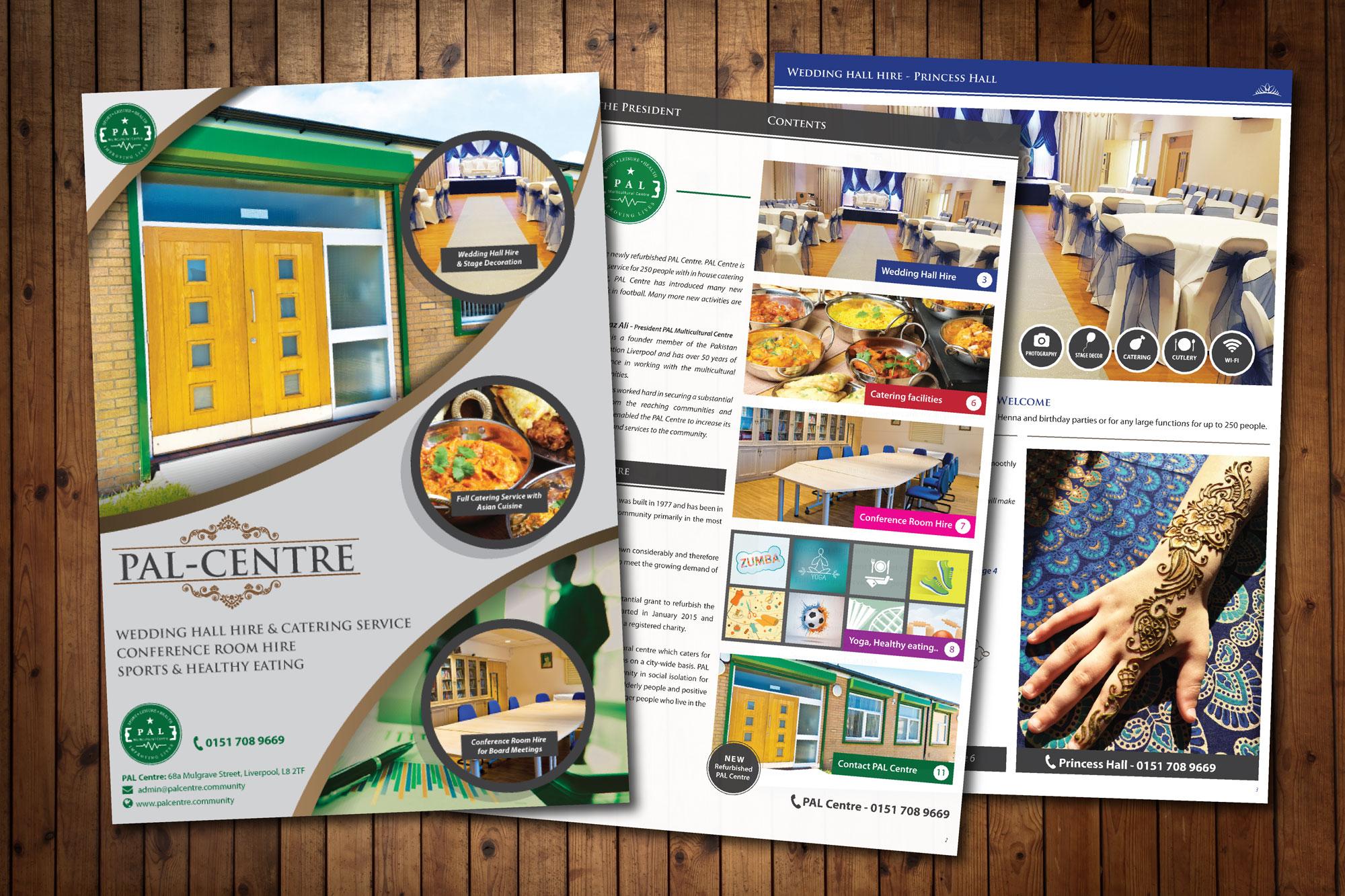 Brochure Design for PAL Centre
