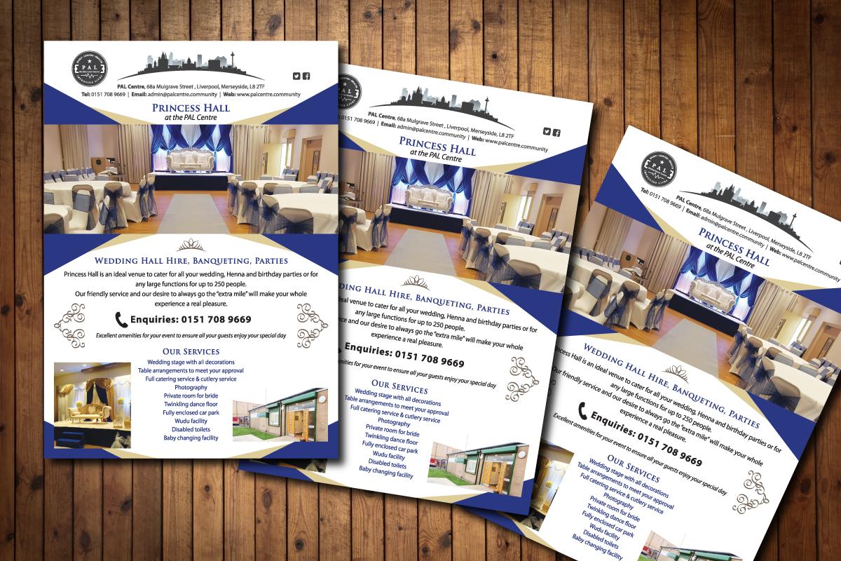 Leaflet Design for PAL Centre